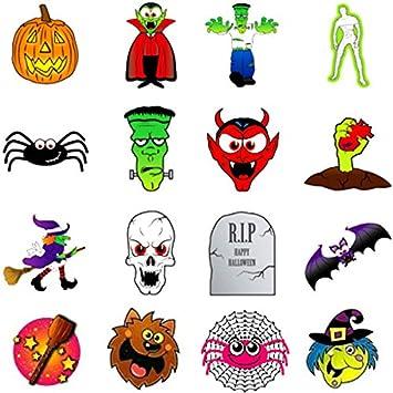 German Trendseller 36 Tattoo Set für Kinder ┃ Halloween ┃ Kinder ...