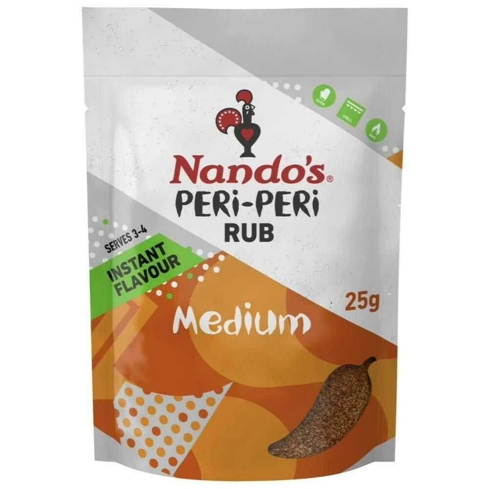 Nando's Peri-Peri Rub Medium (25g)