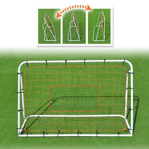 Rebounder Ball Soccer Adjustable (Strong Camel New 6'x4' Adjustable Soccer Ball Rebounder Kicking Training Practicing Equipment)
