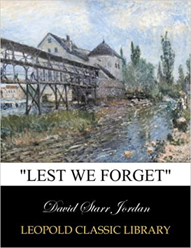 Book 'Lest We Forget'