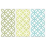 Modern Quilt Art, Citron 12 size 12x24 Pattern Multipack (3PK)