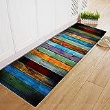 Startview 3D Christmas Floor Mats, Dining Room Carpet Shaggy Soft Area Rug Bedroom Rectangle Floor Mat (40×120cm)
