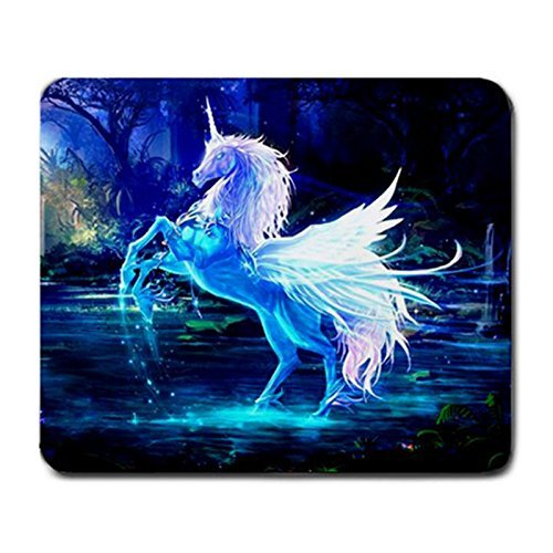 1 X Crystal Unicorn Mouse Pad free shipping