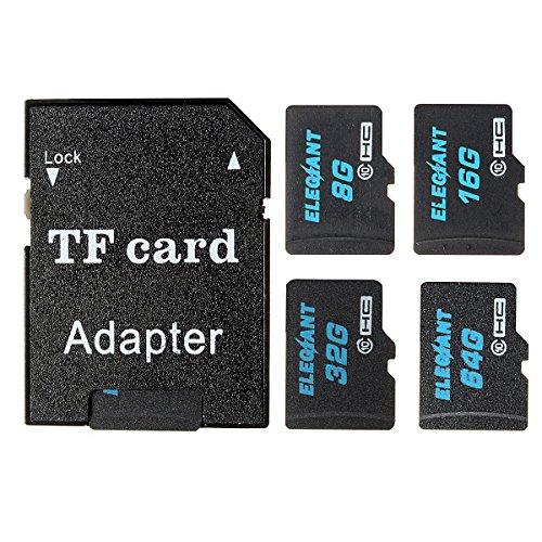 ELEGIANT 32 GB Micro SD TF Karte Speicherkarte Speicher Memory Card Class10 mit SDHC Adapter