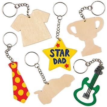 Schlüsselanhänger Aus Holz Für Kinder Zum Basteln Als Geschenk Zum