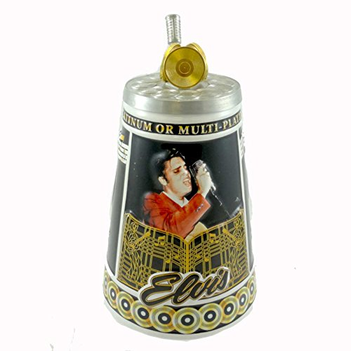 Budweiser's Elvis Gold and Platinum Records Lidded Stein
