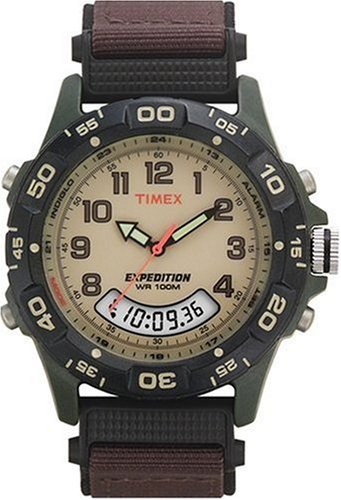 Timex Expedition Resin Combo Classic Analog Green/Black/B...