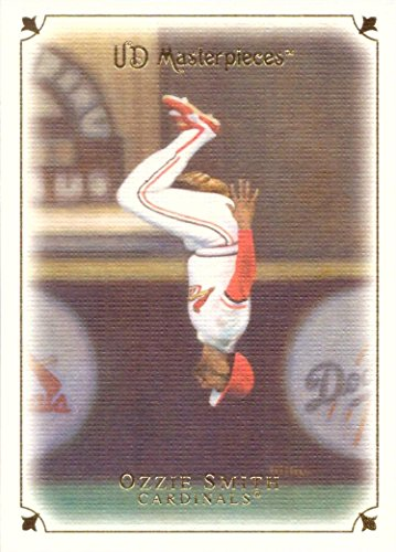 2007 Upper Deck Masterpieces #19 Ozzie Smith Baseball Card - Back ()