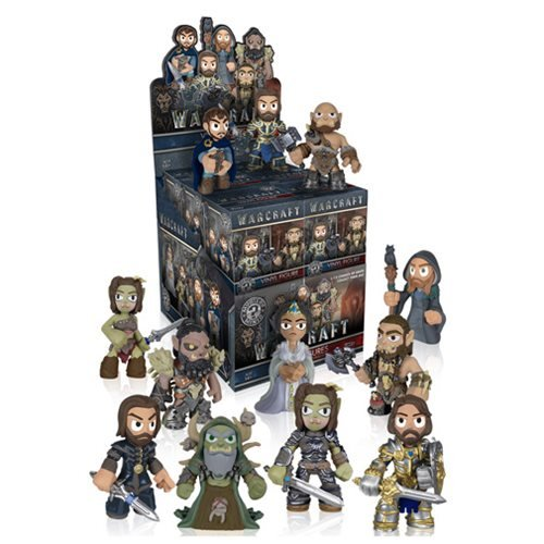 (Funko Mystery Minis: Warcraft Movie Toy Action Figure (2 random mystery mini)