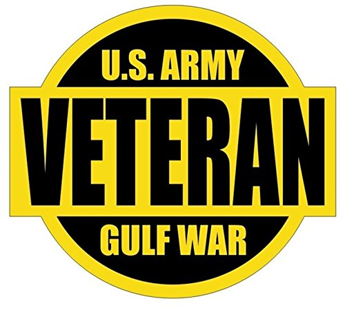 - 1 Set Credible Unique U.S. Army Gulf War Veteran Window Stickers Sign Laptop Luggage Wall Graphics Military Persian Decor Vinyl Art Sticker Patches Size 2