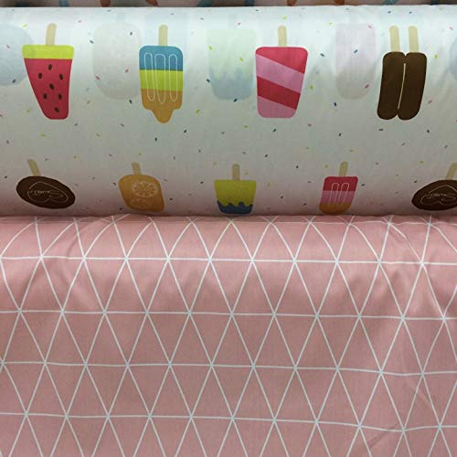Cartoon Cotton Fabric 160cm50cm Baby Cloth Sewing Bedding Kids Bed Linens Pillow Case DIY Craft Quilt Tissue