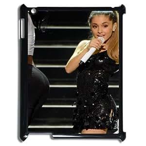 I-Cu-Le Cover Custom Case Ariana Grande,customized Hard Plastic case For IPad 2,3,4