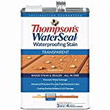 THOMPSONS WATERSEAL 041851-16 Transparent Stain, Cedar