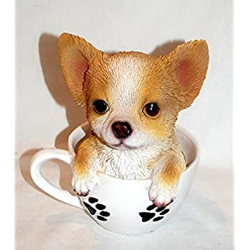 Yadianna Decorations Art Craft Corgi Dog Statue Pig Bank Dog Animal Money Box Resin Home
