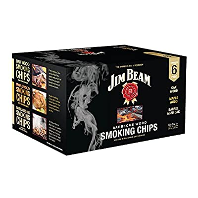 Jim Beam Wood Smoking Chips Variety Pack