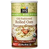 365 Everyday Value Organic Old-Fashioned Rolled Oats, 18 oz