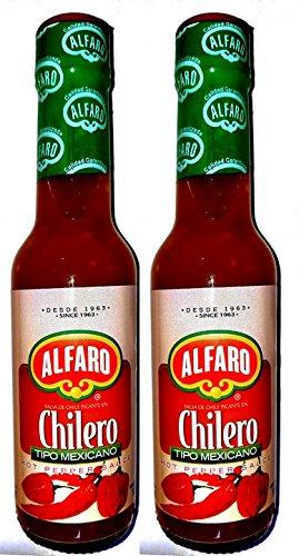 ALFARO SALSA DE CHILE PICANTE EN CHILERO TIPO MEXICANO 2PK