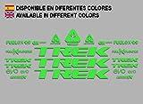 Ecoshirt 48-S05O-XLCJ Stickers Trek Fuel Ex 9.9 Bikes F144 Stickers Aufkleber Decals Autocollants Adesivi MTB BTT, Green