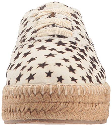 KAANAS Women's Montauk Lace-up Espadrille Sneaker Stars 8KgEcp
