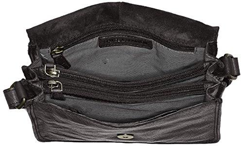 Spikes & Sparrow Crossover Bag - Bolsos bandolera Mujer Negro (Black)