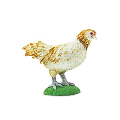 Safari 100090 Farm Ameraucana Chicken Minature: Toys & Games