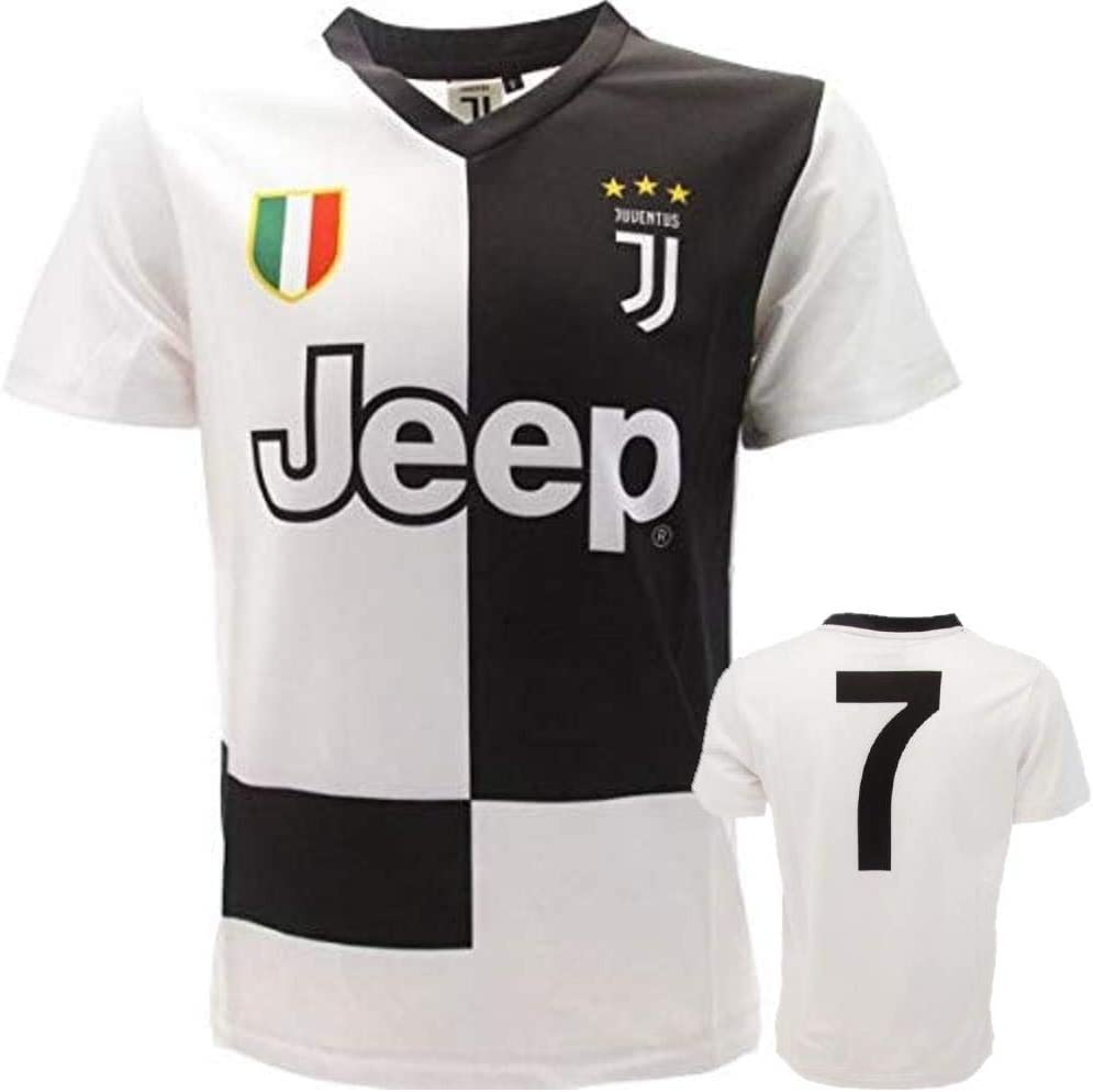 juve Camiseta de Fútbol n 7-2020 (Cristiano Ronaldo 7 CR7 ...