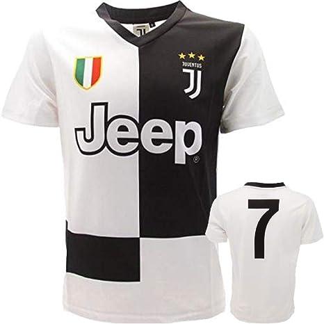 juve Camiseta de Fútbol n 7-2020 (Cristiano Ronaldo 7 CR7) Juventus F.C. Home Temporada Replica Oficial con Licencia - Todos Los Tamaños Niño (6 8 10 12 AÑOS) y Adulto (S M) S: Amazon.es: Deportes y aire libre