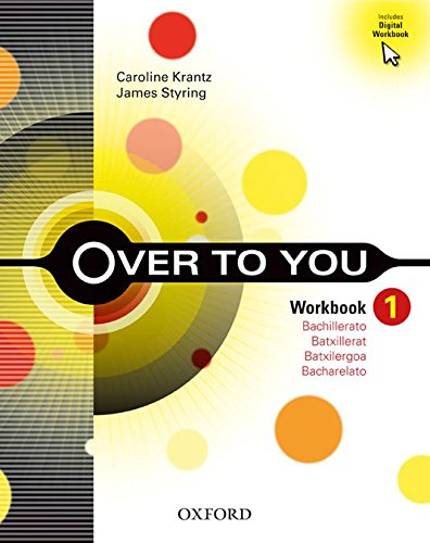Over to You 1: Workbook Pack (Cat) - 9780194450164 (Catalán) Tapa blanda – 2013 Bess Bradfield S.A. 0194450163 Lengua extranjera: inglés