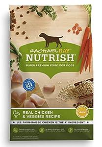 Rachael Ray Nutrish Natural Dry Dog Food, Real Chicken & Veggies Recipe