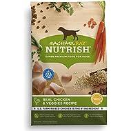 Rachael Ray Nutrish Natural Dry Dog Food, Real Chicken & Veggies Recipe, 40 Lbs