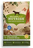 Rachael Ray Nutrish Natural Dry Dog Food, Real Chicken & Veggies Recipe, 40 lbs