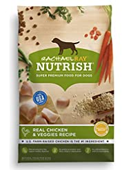 Rachael Ray Nutrish Natural Dry Dog Food, Real Chicken & Vegg...