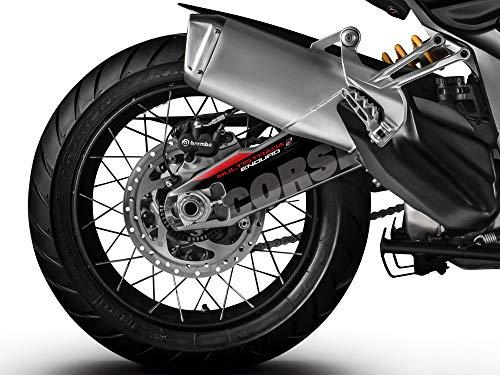 Uniracing K47657 Decoratie- en beschermingskit voor Ducati Multistrada 1200/1260 Enduro 2014-20 swingarm, Corse
