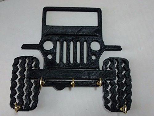 Plastic 5 Jeep Rock Crawler Mud Bog Key Holder Key Rack