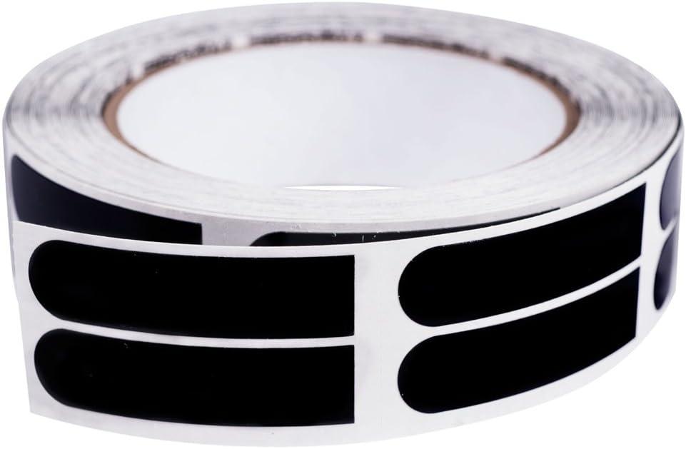 Ebonite Premium Bowling Tape- 1.3cm Black Roll of 500 Pieces