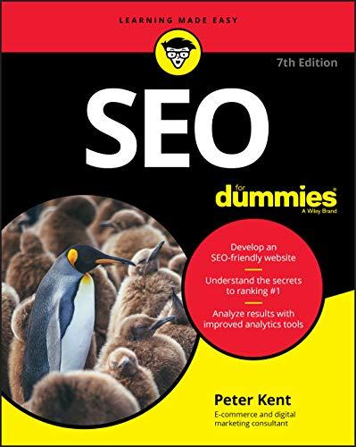 SEO For Dummies (For Dummies (Computer/Tech))