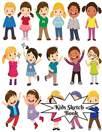 Download Kids Sketch Book: Childrens Extra Large Blank Notebook Journal For Doodling Drawing Sketching Scribbling Writing and More (Kids Sketchbook Collections) pdf