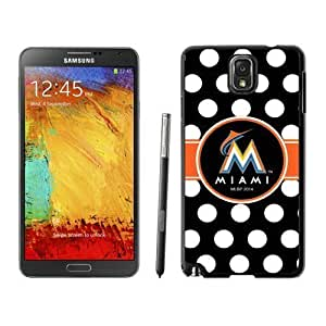 Pink Ladoo? Samsung Note 3 Case Phone Cover Hard Plastic MLB Miami Marlins