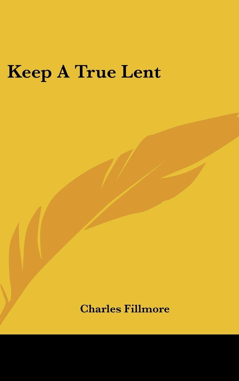 Keep a True Lent pdf
