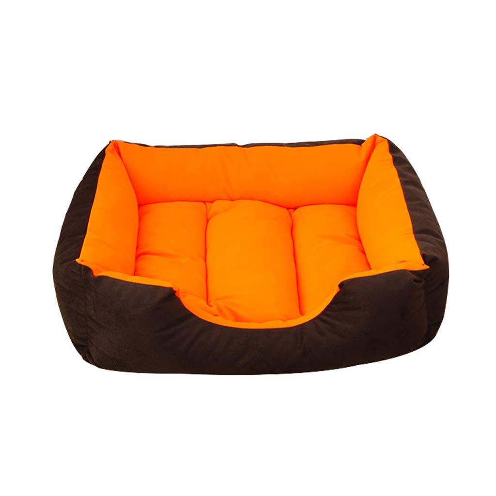 F XLargePet house Dog Bed,Comfortable Pet Nest Indoor Shortlived Fluff Cold Predection Moisture Proof 4 Sizes (color   D, Size   Xl)