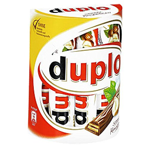 Ferrero Kinder DUPLO -Chocolate hazelnut sticks -1 box- 1...