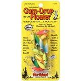Northland Tackle PJ2-12-99 Gum-Drop Floater, Assorted, 2 Hook