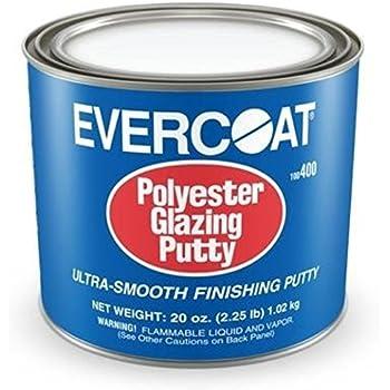 Fibreglass Evercoat 400 Polyester Glazing Putty - 20 oz. Can