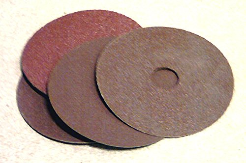 100mm x 16mm Sanding discs for angle grinders. P100 aluminium oxide abrasive. Price per 25 St. Gobain