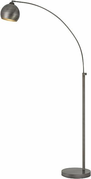 Cal Lighting BO-2030-1L-DB One Light Arc Floor Lamp