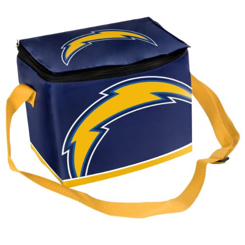 NFL San Diego Chargers Big Logo Team Lunch Bag (Box Diego Chargers San Lunch)