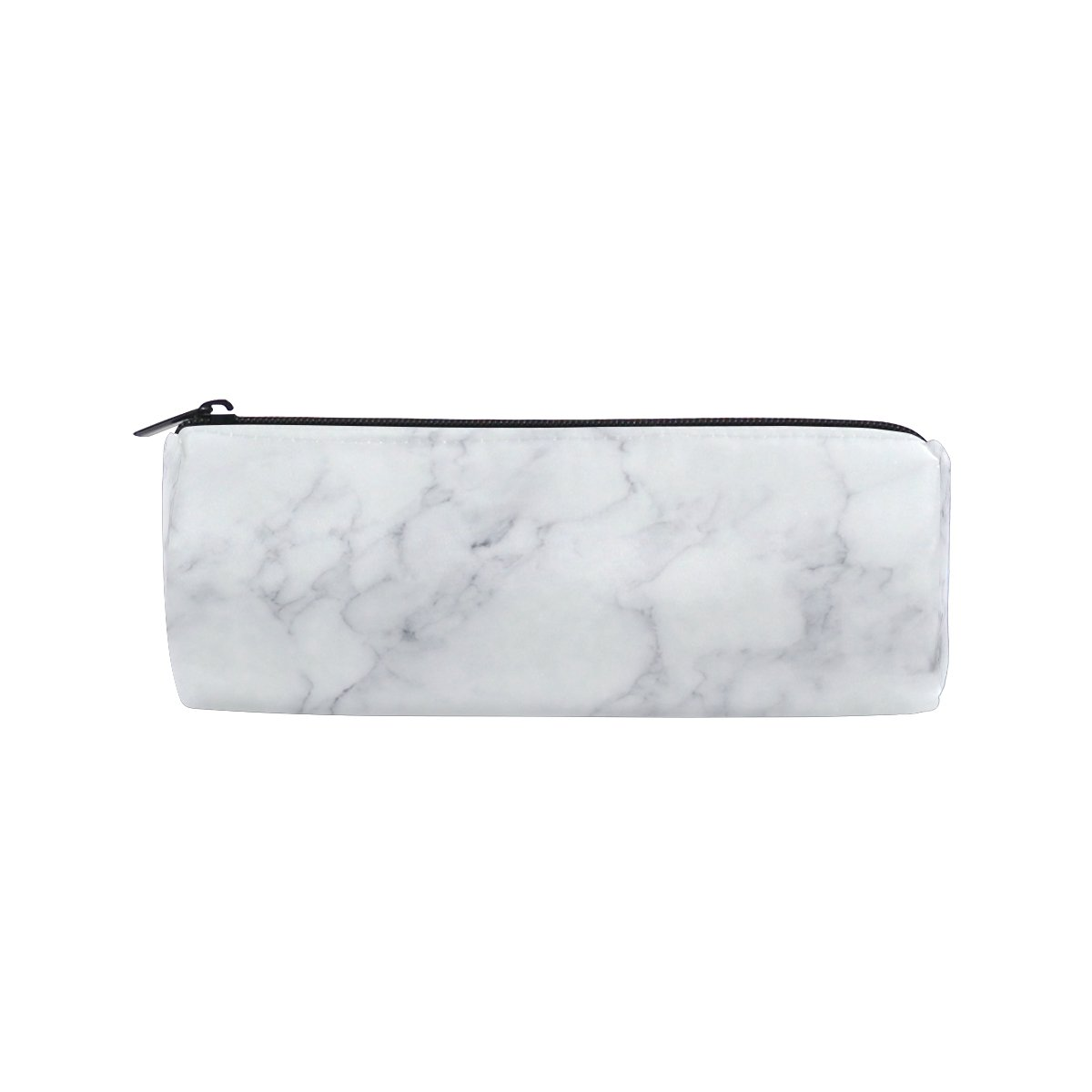 Cooper Girl White Marble Pencil Bag Pen Case Students Stationery Pouch Zipper Bag for Girls Boys Kids