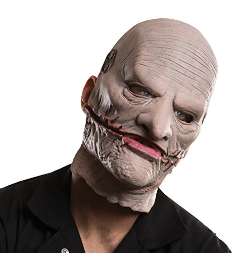 Rubie's Men's Metal Band Slipknot Corey Mask Theme Party Halloween Costume Accessory ()