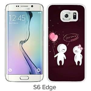 Popular Samsung Galaxy S6 Edge Cover Case ,Cartoon Xperia Z Wallpapers 31 White Samsung Galaxy S6 Edge Phone Case Fashion And Unique Design Cover Case