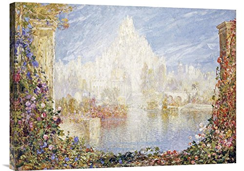 Global Gallery Budget GCS-265294-30-142 Tom Mostyn Fairyland Castle Gallery Wrap Giclee on Canvas Print Wall Art
